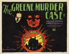 The Greene Murder Case 1929 DVD - William Powell / Florence Eldridge